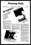 Mustang Daily, November 22, 1982