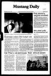Mustang Daily, January 5, 1983