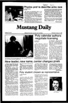 Mustang Daily, January 12, 1983