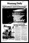 Mustang Daily, January 31, 1983