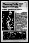 Mustang Daily, September 19, 1983