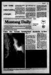 Mustang Daily, September 27, 1983