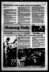 Mustang Daily, September 28, 1983