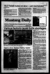 Mustang Daily, September 29, 1983