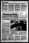 Mustang Daily, October 3, 1983