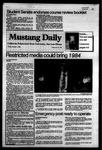 Mustang Daily, October 7, 1983