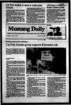 Mustang Daily, October 12, 1983