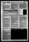 Mustang Daily, October 19, 1983