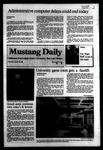 Mustang Daily, October 20, 1983
