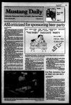 Mustang Daily, October 25, 1983