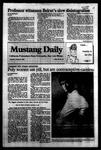 Mustang Daily, October 27, 1983