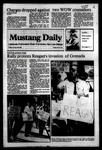 Mustang Daily, October 28, 1983