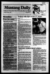 Mustang Daily, November 1, 1983