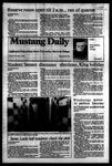 Mustang Daily, November 4, 1983