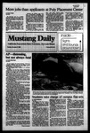 Mustang Daily, November 8, 1983