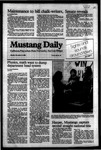 Mustang Daily, November 14, 1983