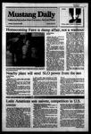 Mustang Daily, November 15, 1983
