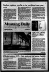 Mustang Daily, November 17, 1983