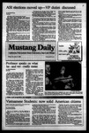 Mustang Daily, November 18, 1983