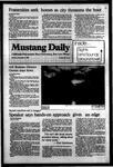 Mustang Daily, November 21, 1983