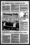 Mustang Daily, November 22, 1983