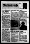 Mustang Daily, January 9, 1984