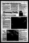 Mustang Daily, January 11, 1984