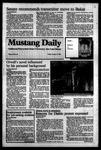 Mustang Daily, January 13, 1984