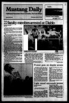 Mustang Daily, January 18, 1984