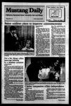 Mustang Daily, January 20, 1984