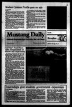 Mustang Daily, January 25, 1984