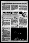 Mustang Daily, February 3, 1984