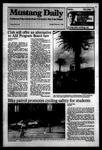 Mustang Daily, February 7, 1984