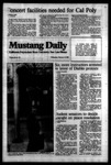 Mustang Daily, February 15, 1984