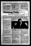 Mustang Daily, February 28, 1984