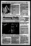Mustang Daily, March 6, 1984