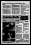 Mustang Daily, March 9, 1984