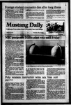 Mustang Daily, March 28, 1984
