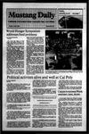 Mustang Daily, April 3, 1984