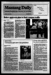 Mustang Daily, April 5, 1984