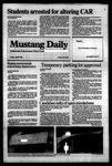 Mustang Daily, April 6, 1984