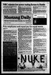 Mustang Daily, April 16, 1984