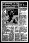 Mustang Daily, April 17, 1984