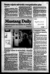 Mustang Daily, April 19, 1984