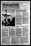 Mustang Daily, April 23, 1984