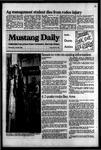 Mustang Daily, April 25, 1984