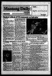 Mustang Daily, May 7, 1984