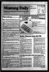 Mustang Daily, May 14, 1984