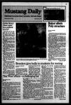 Mustang Daily, May 21, 1984