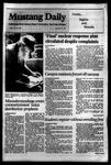 Mustang Daily, May 25, 1984